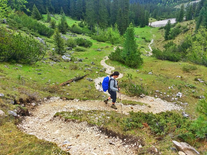 adventure travel blogger hiking in Germany
