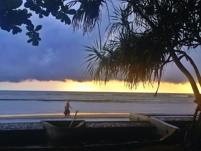 Loved integrating walks on the beach into my Ayurvedic treatments in Beruwala, Sri Lanka.