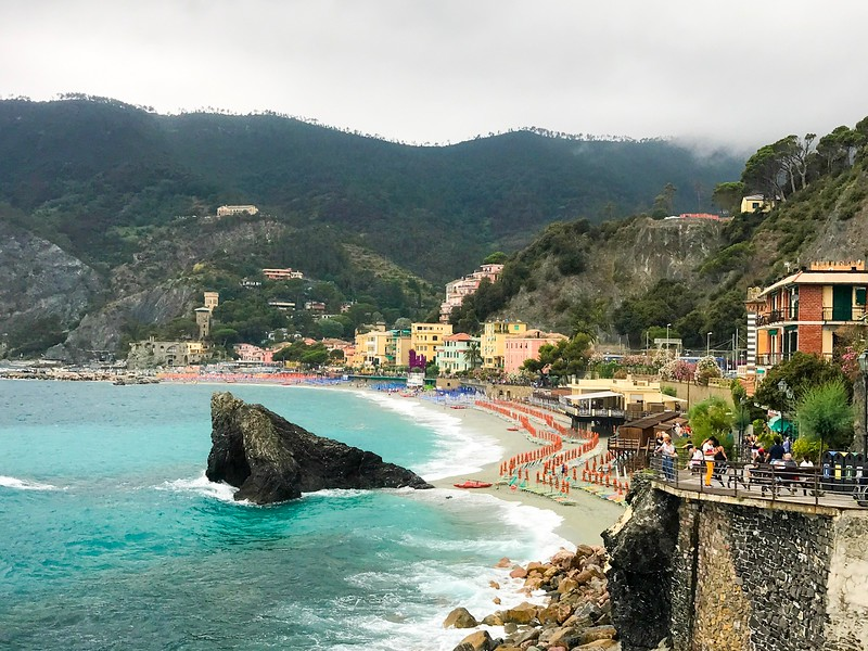 Cinque Terre Travel Tip: head to Monterroso for the best beaches