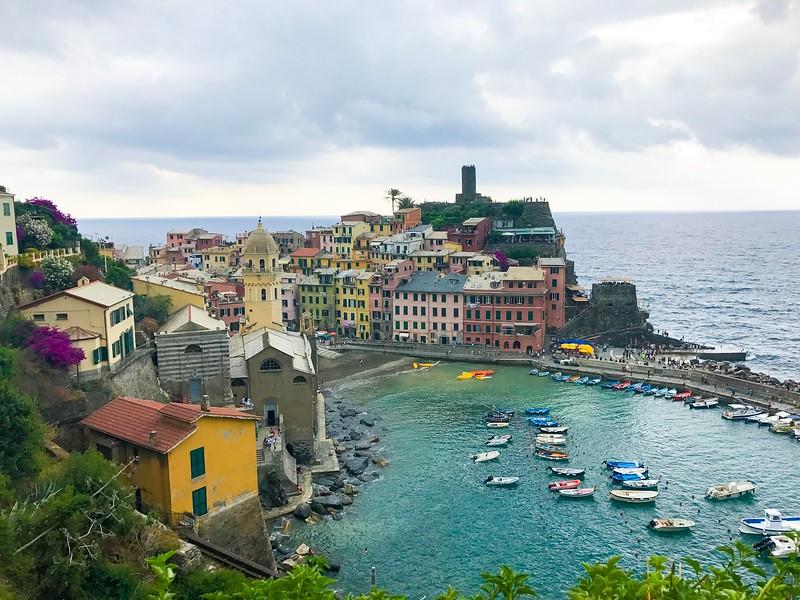 Cinque Terre Travel Tip: Visit the crown jewel, Vernazza