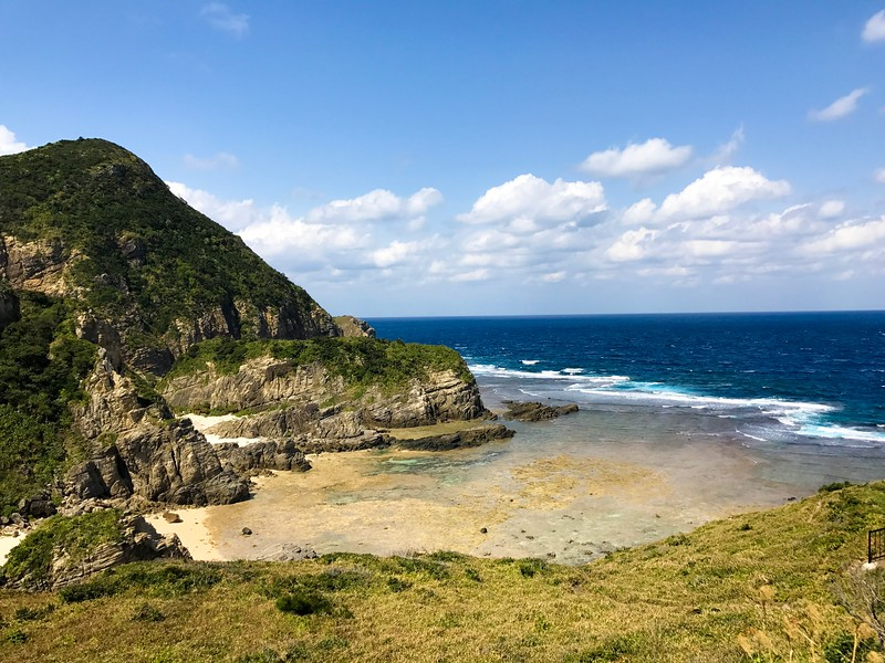 Chishi Observation Lookout offers a reclusive beach on Zamami, one of the Kerama Islands in Okinawa, Japan.