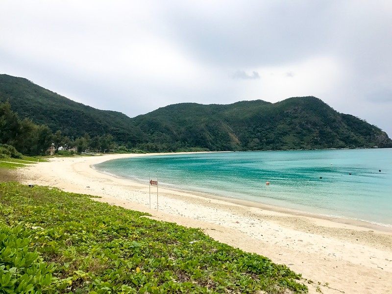 Travellers will find lots of deserted beaches on Aka Island in Okinawa, Japan.