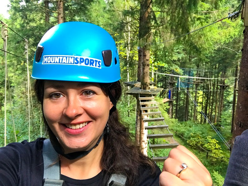 Adventure junkies will love the High Ropes Course in Mayrhofen.
