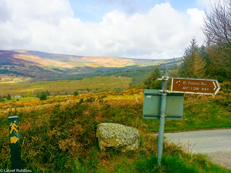 The Wicklow Way is well-signed and is one of the most popular walking routes in Ireland.