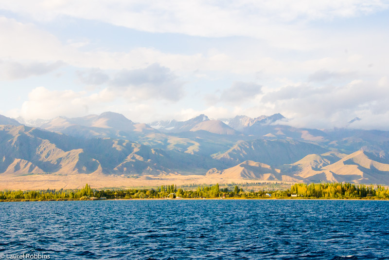 Travel tip: Go for a cruise on Lake Issyk-Kul, the largest lake in Kyrgyzstan