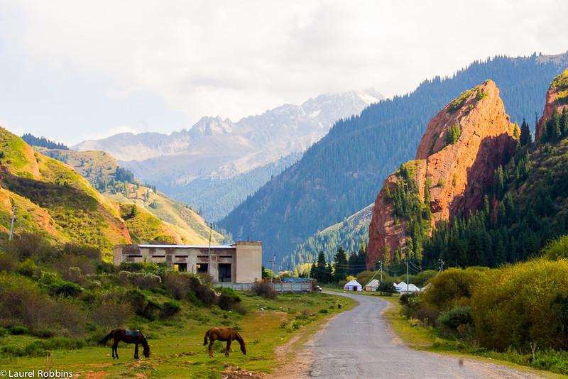 when travelling to Kyrgyzstan plan to go horseback riding