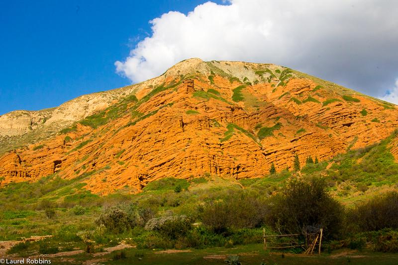 gorgeous landscape of Kyrgyzstan