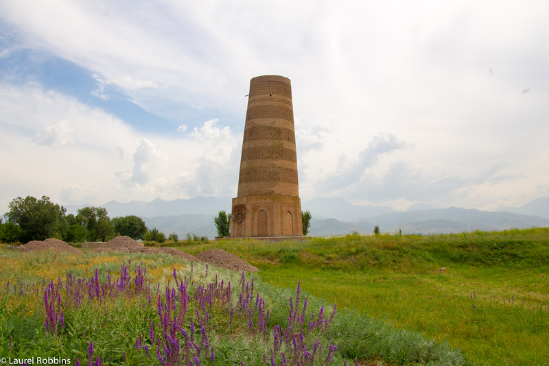 Burana Tower is one of the cultural highlights when travelling in Kyrgyzstan