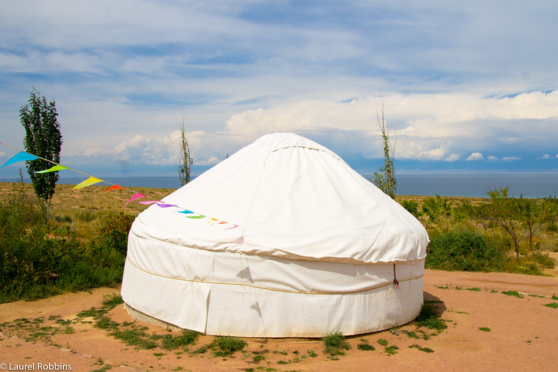 Travellers can stay at a yurt camp and support community-based tourism projects in Kyrgyzstan.