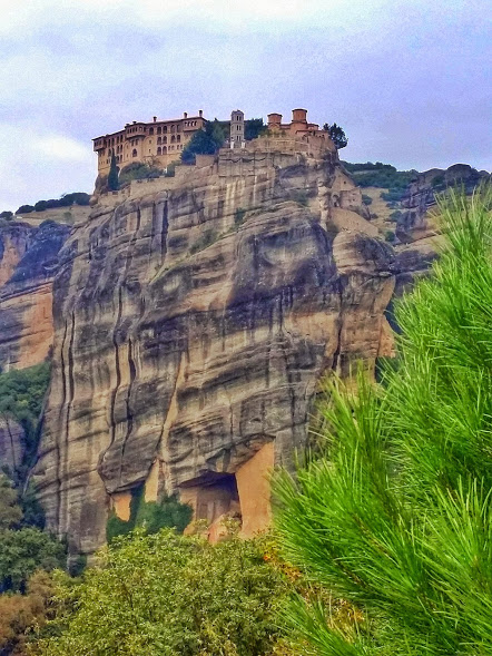 Meteora, Greece photo of Varlaam Monastery.