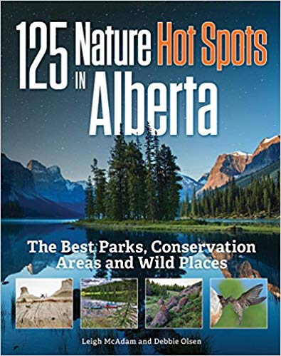 125 nature hot spots in Alberta, Canada