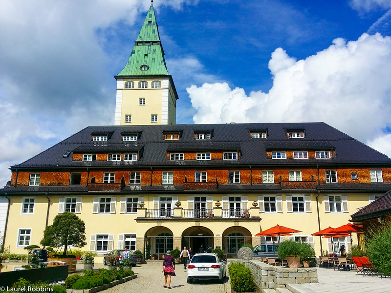 Schoss Hotel Elmau where the Hike to the Schachen Haus