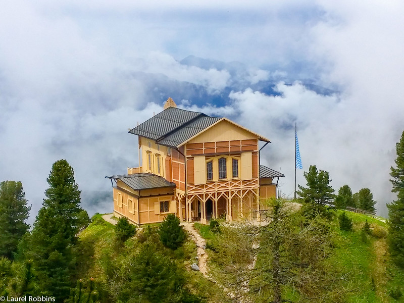The Schachenhaus is a great hike to King Ludwig II's mountain palace in the German Alps