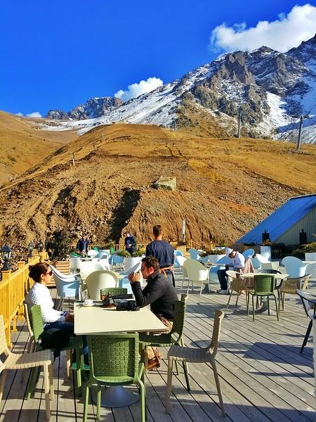 Shymbulak Ski Resort is located in the Tien Shan mountains, ~25 km away from Almaty, Kazakhstan.
