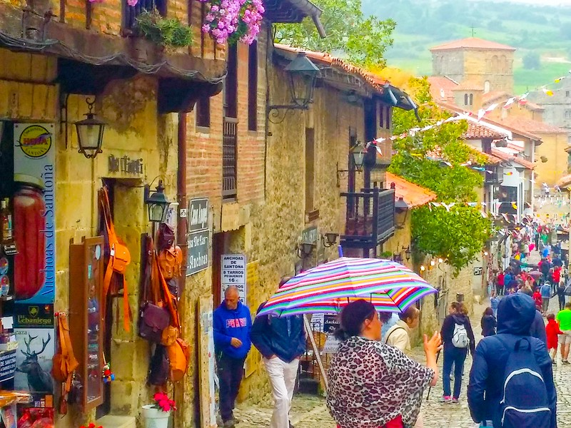 Santillana del Mar is frequently referred to as one of the most beautiful villages in all of Spain!