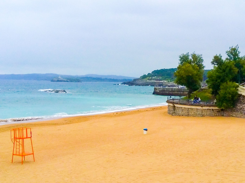One of the 60 beaches you can find in Cantabria, Spain.