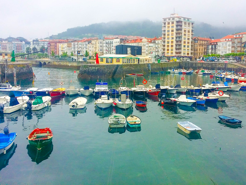 The modern port city of Castro Urdiales still has a medieval centre and overlooks the Bay of Biscay.