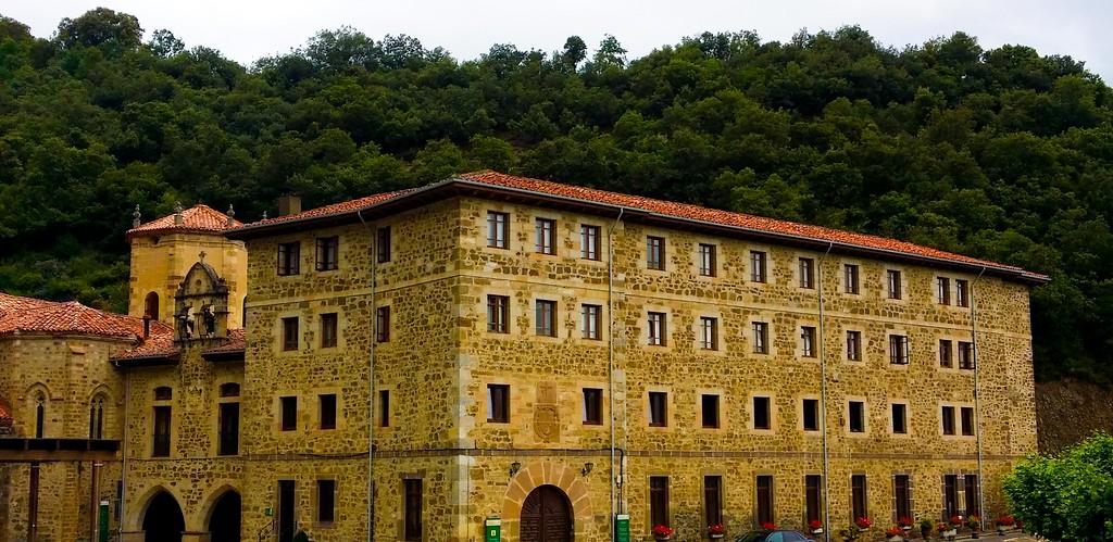Santo Toribio Monastery is the end point of the Camino Lebaniego.