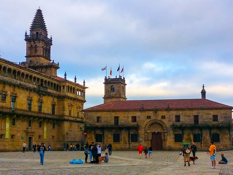 Catedral de Santiago de Compostela in Galicia