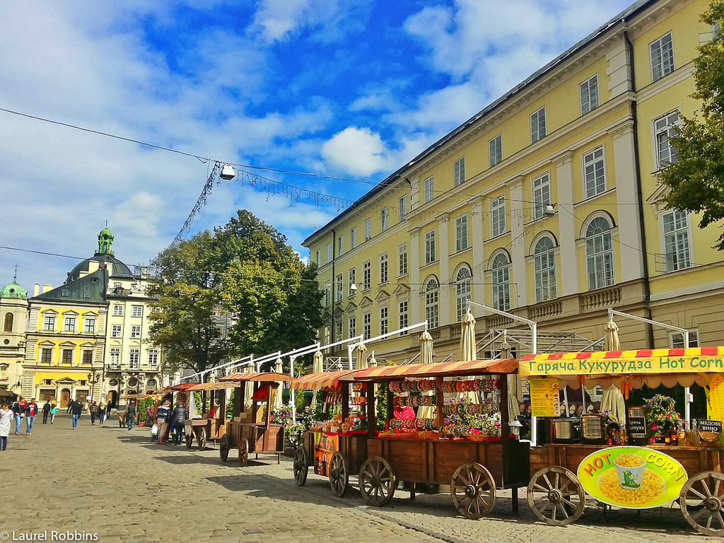 Lviv has over 60 festivals each year, including a chocolate and a coffee festival!