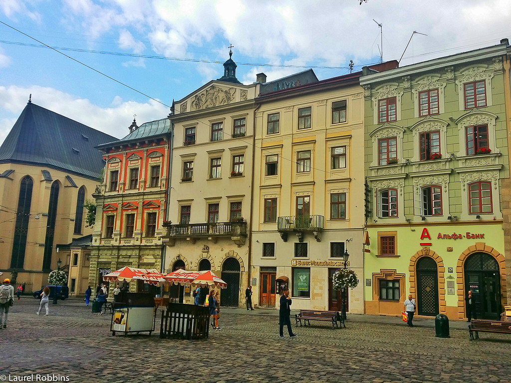 Lviv is famous for its architecture and is home to 50% of all architectural sites in Ukraine.