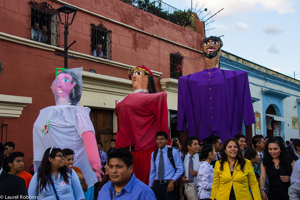 Mexico is famous for its festivals. I ran into this one in Oaxaca by chance. The energy was contagious!