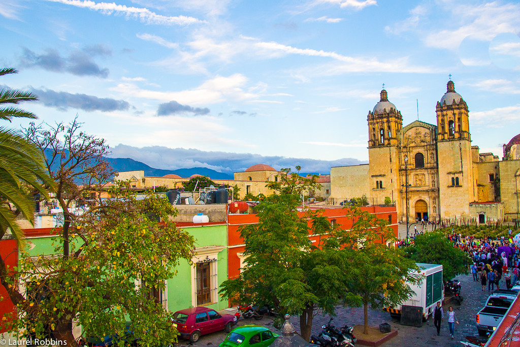 Beautiful city of Oaxaca, definitely a highlight when travelling in Mexico.