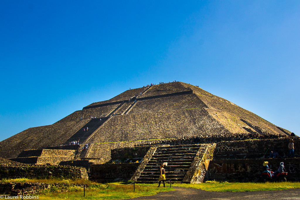 Teotihuacan pyramids near Mexico City are a UNESCO World Heritage Site and should be at the top of your list when you travel to Mexico.