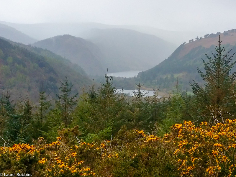 Valley of the Two Lakes in the Wicklow Mountains