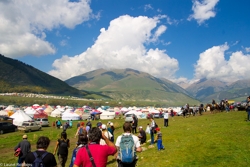 The World Nomad Games cultural and hunting events took place in Kyrchyn Jailoo.