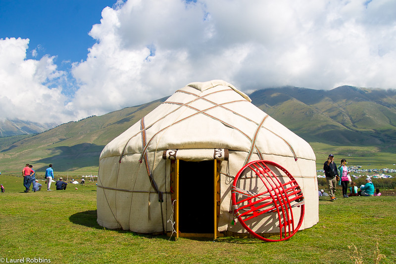 You'll find over 200 yurts at the World Nomad Games.