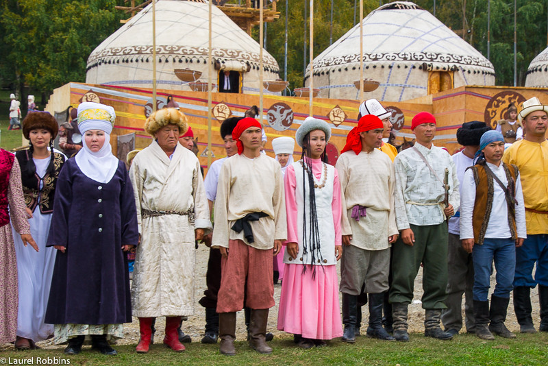 Cultural performance at the World Nomad Games
