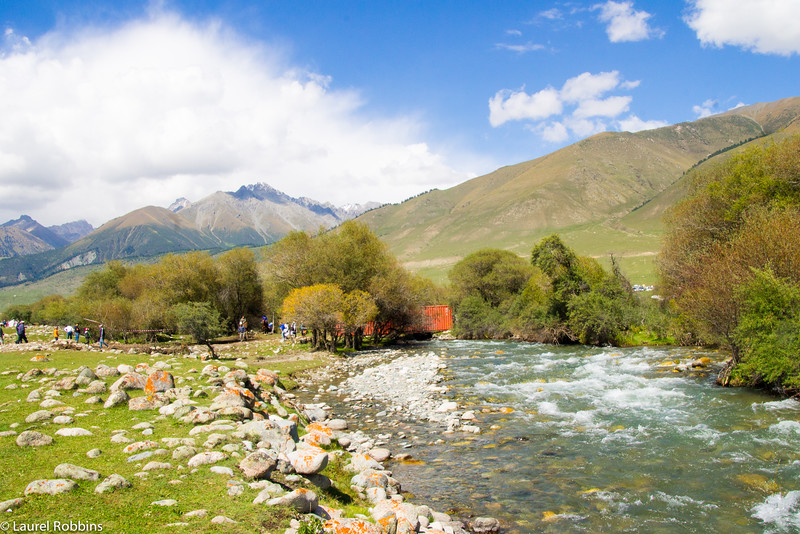 Kyrgyzstan is a nature lover's paradise with mountains and glacier-fed streams.