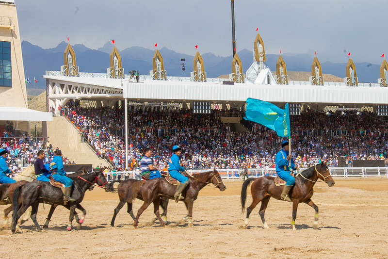 Kyrgyzstan was the Kok-boru champions the 2016 World Nomad Games was