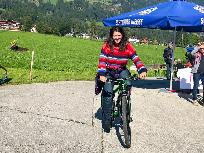 You'll find 1200 km of bike trails in Zillertal. You can hike in the valley or choose more challenging mountain biking.