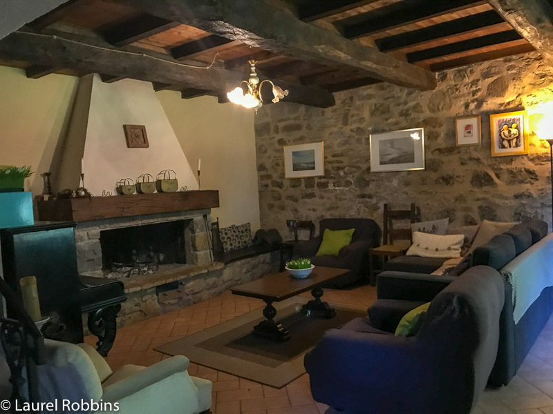 Farmstay Agriturismo Prunara is a cozy welcoming place to stay on the Path of Gods Italy.