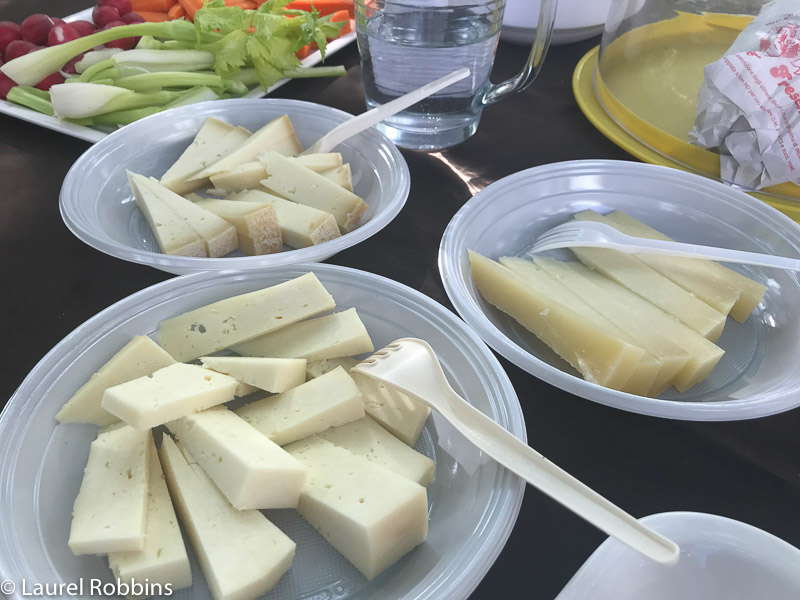 Sampling Tuscan cheeses on the Path of Gods Italy in Tuscany