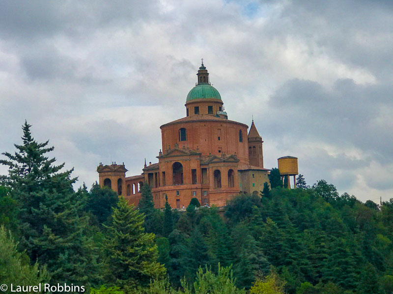 Sanctuary of San Luca in Bologna.