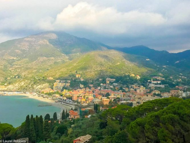 Levanto, near Cinque Terre and a popular seaside resort in the Italian Riviera.