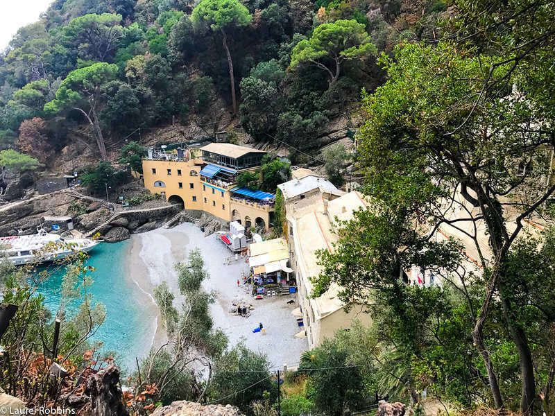 San Fruttuoso Abbey can only be reached by foot or boat. You'lll go there on your Cinque Terre walking tour.