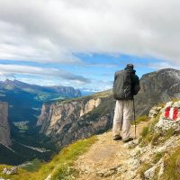 Dolomites hiking walking holiday europe