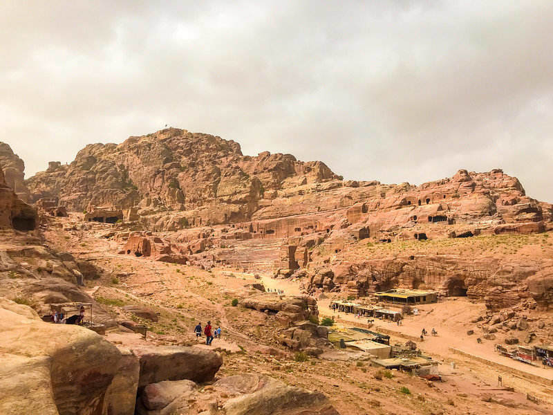 when you start hiking you may find yourself wanting to hike in different landscapes, like the desert in Jordan.