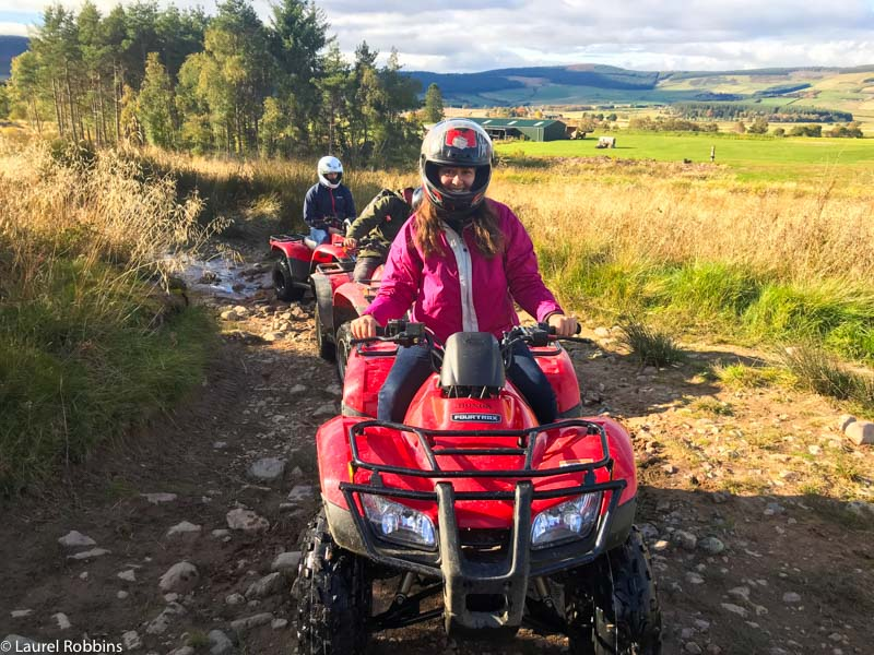 lots of adventures await at Deeside Activity Park in Royal Deeside including quad bike safaris