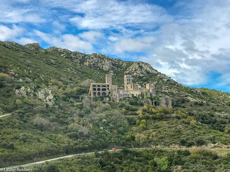 Sant Pere de Rodes Monastery is a highlight on the Costa Brava to France hiking tour.