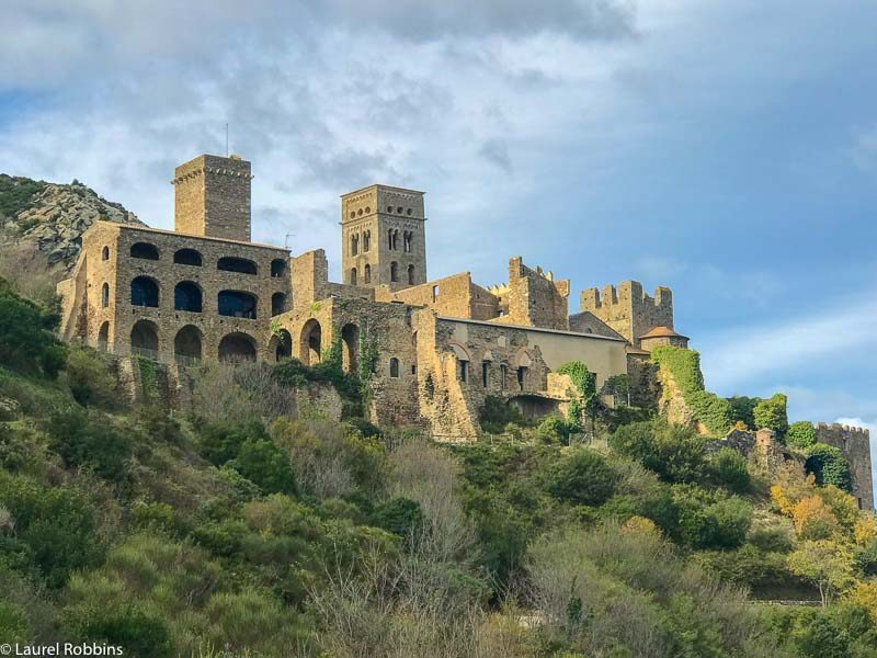 Sant Pere de Rodes Cloister is a highlight of hiking in Costa Brava