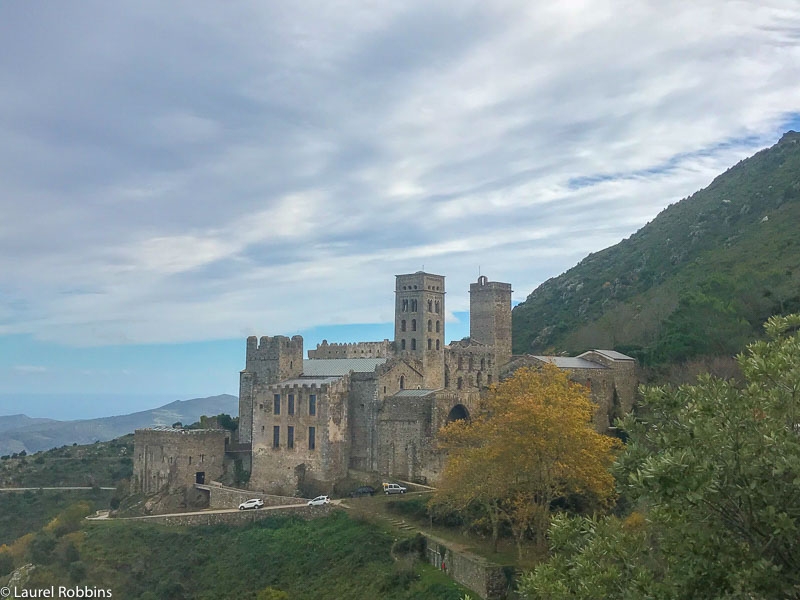 You'll hike up to Sant Pere de Rodes Cloister, one of the most important monasteries in Spain with gorgeous views of the sea.
