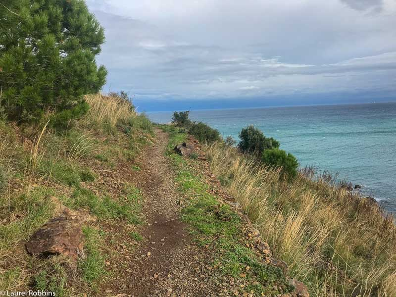 Coastal paths give you incredible views of the sea and a nice breeze.