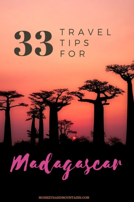 travel tips for Madagascar