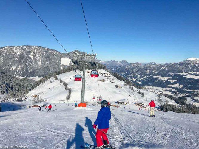 90 lifts at SkiWelt