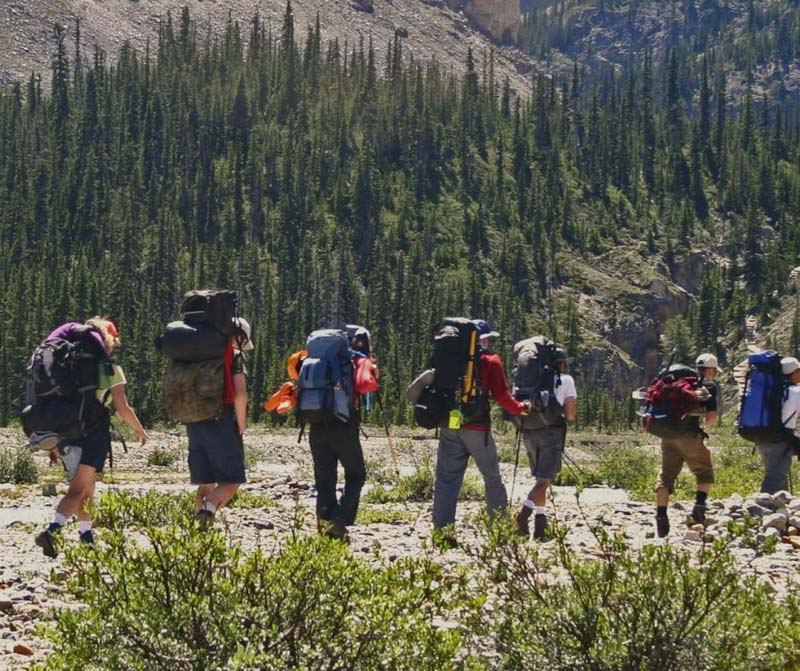 Backpacking workout plan for hikers.